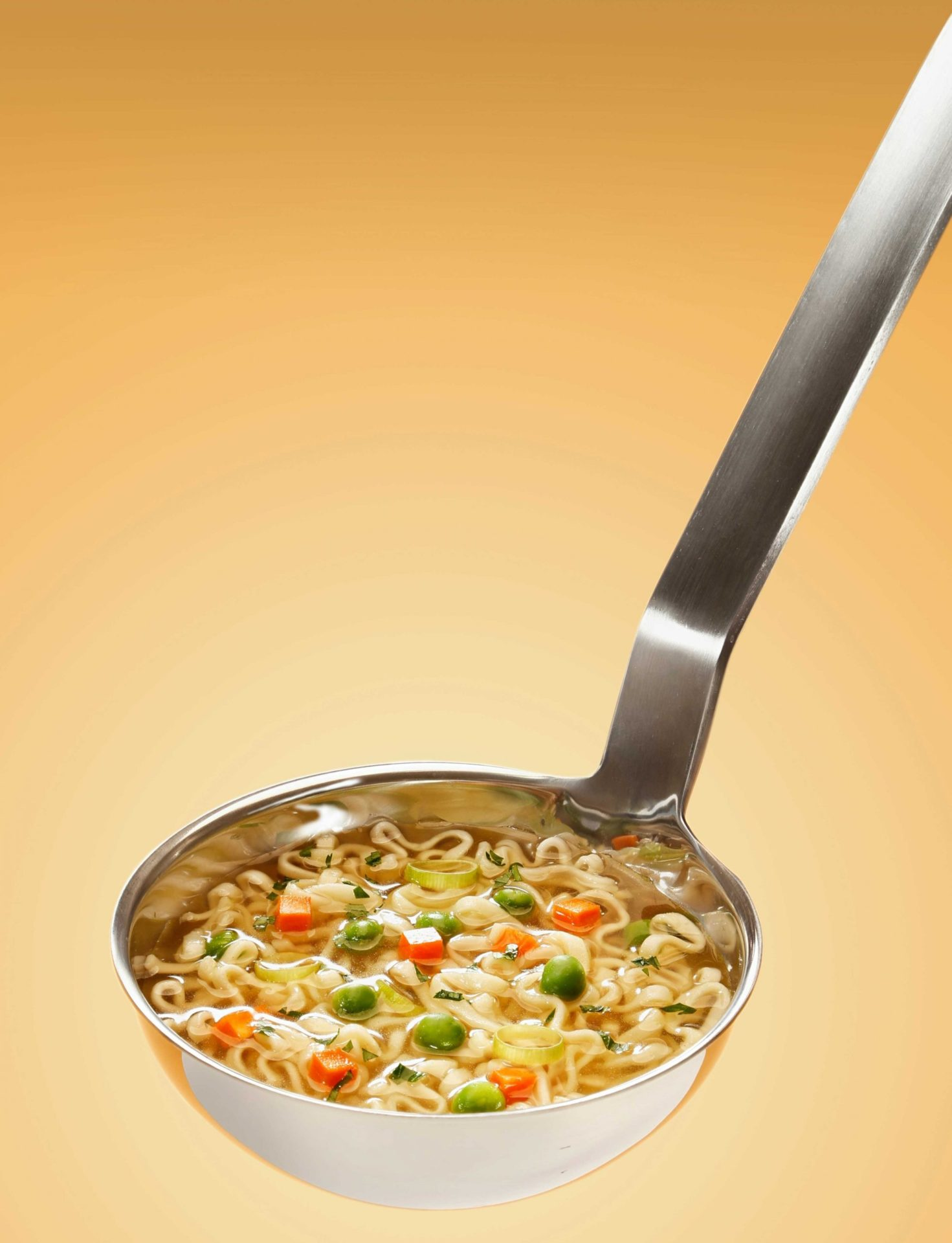 how much soup ladle holds