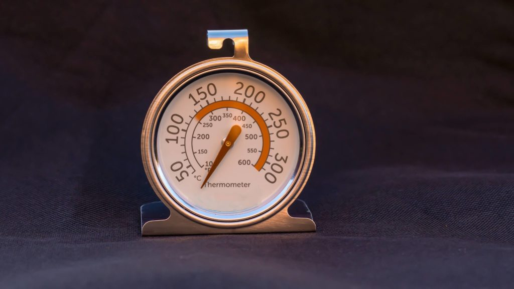 An Oven Thermometer