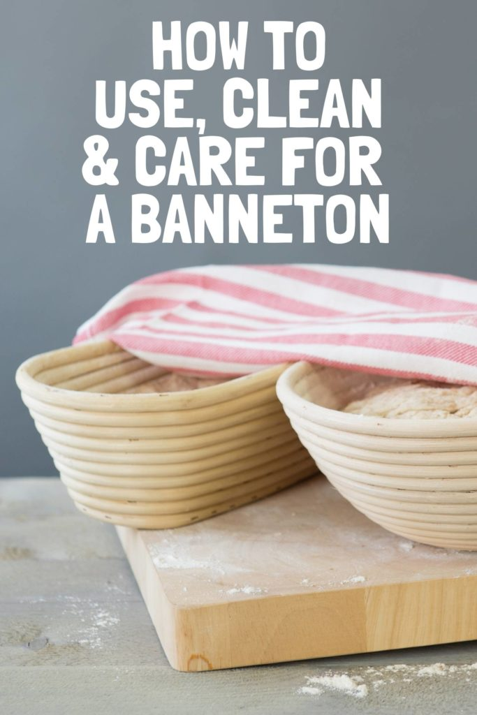 How to Use, Clean & Care For A Banneton Pin